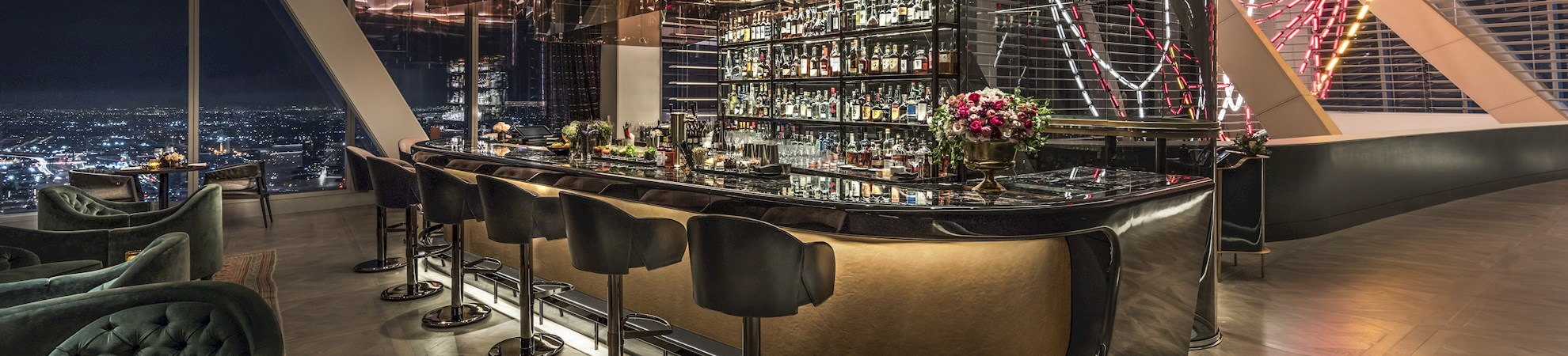 Bar do InterContinental Los Angeles Downtown
